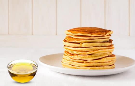营养早餐食谱:橄榄油煎松饼
