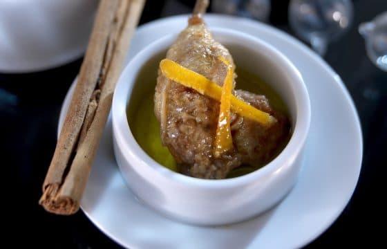 秋冬进补:肉桂橙子鹌鹑汤