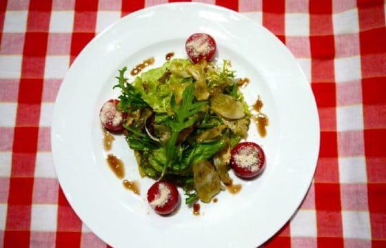 橄榄油蘑菇沙拉