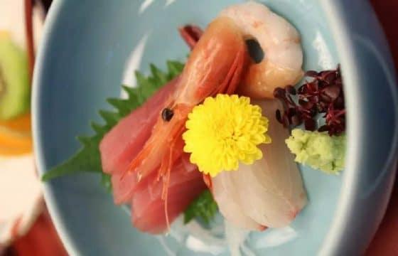 日式生鱼片