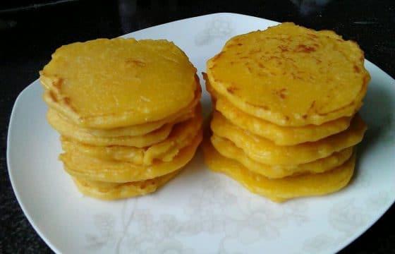 食用橄榄油烧玉米饼