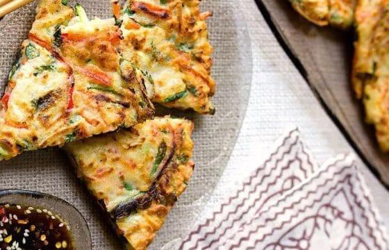 橄榄油蔬菜牛肉饼