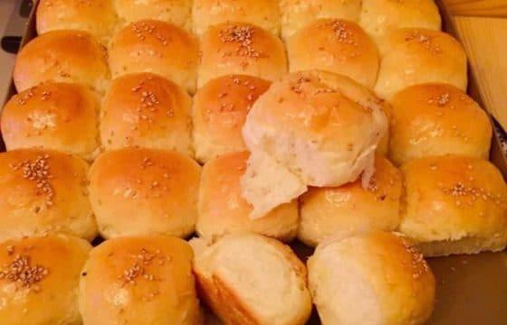 自制橄榄油酸奶小面包