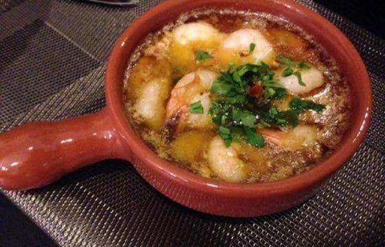 西班牙蒜香橄榄油虾