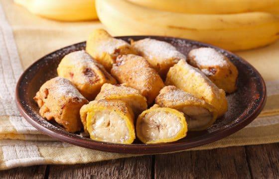 橄榄油蜂蜜香蕉面包