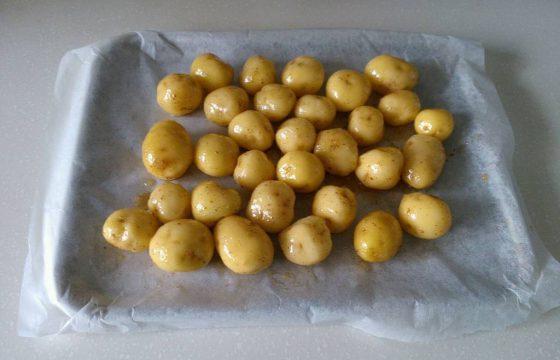 简单的美味:孜然烤土豆
