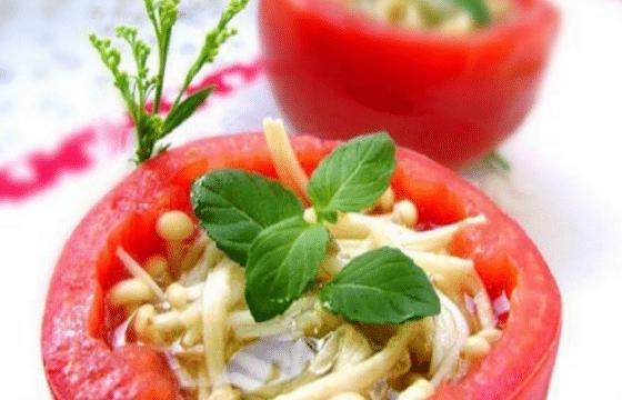 橄榄油菌菇盅