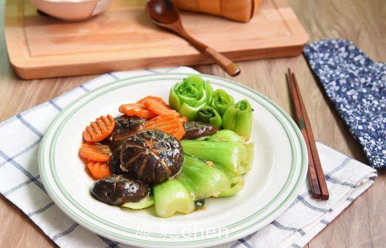 香菇油菜怎么做好吃