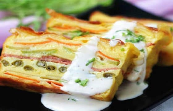 橄榄油蔬菜蛋糕