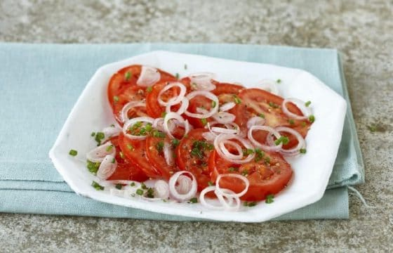 洋葱西红柿沙拉