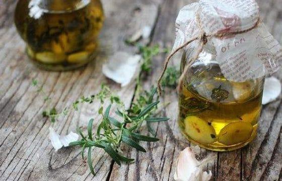 橄榄油浸香蒜