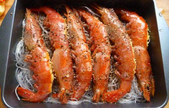 橄榄油焖大虾