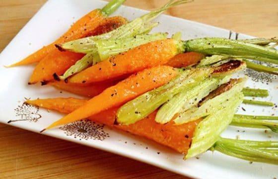 懒人料理:橄榄油烤蔬菜