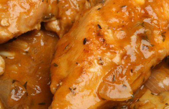 家常菜食谱:蘑菇炖鸡
