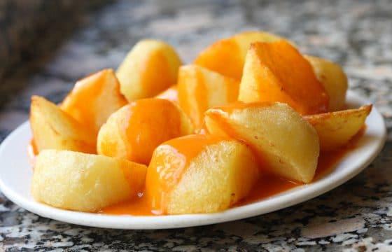 西班牙辣酱土豆(Patatas Bravas)