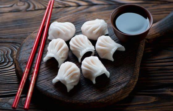 橄榄油虾饺