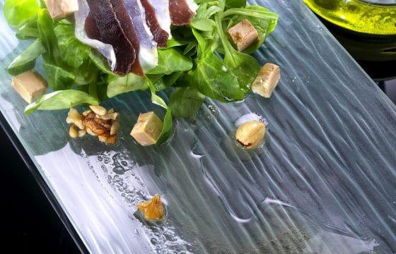 沙拉食谱:鸭腿野苣沙拉