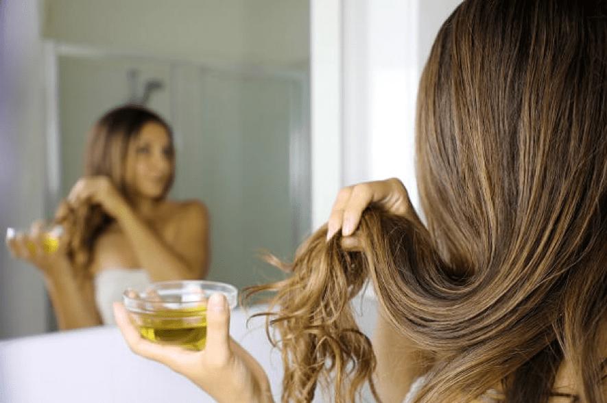 橄榄油的益处_护发