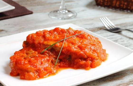 西红柿巴沙鱼